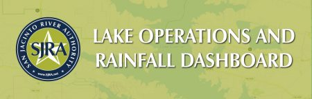 Lake Operations and Rainfall information