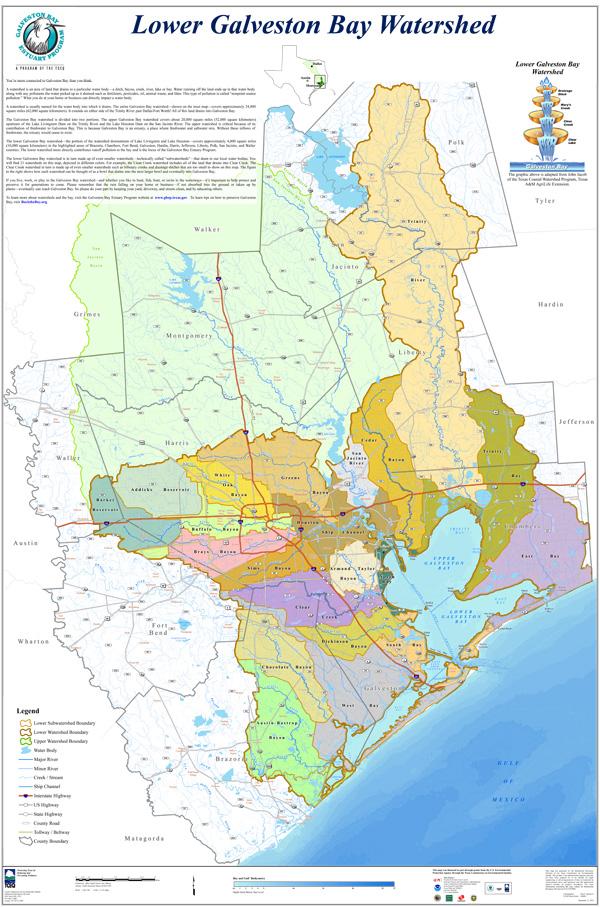 Lower Galveston Bay Watershed
