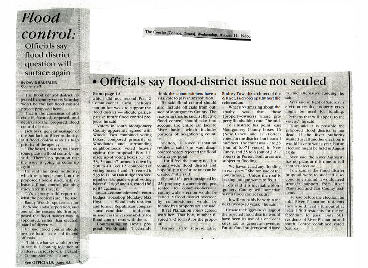 Figure 6-Courier_Flood Control Officials Say Flood District Question Will Surface Again_081685