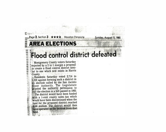 Figure 3-Houston Chronicle_Flood Control District Defeated_081185
