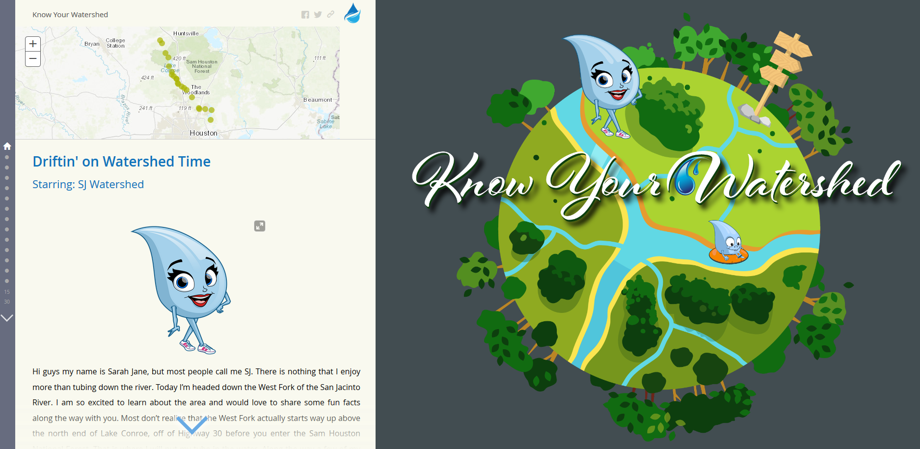 Know Your Watershed StoryMap