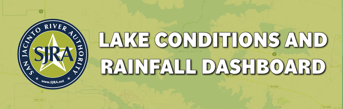 Lake Conditions and Rainfall dashboard