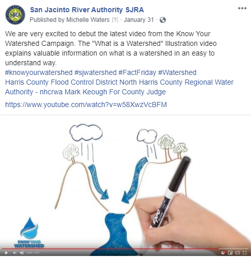 January 31, 2020 Know Your Watershed Campaign