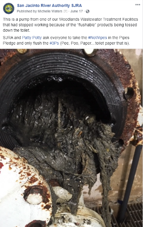 June 17, 2020 No Wipes in the Pipes